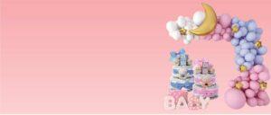 Nimelised kingitused, Baby shower, mähkmetort, katsikukingitus
